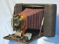 ' 1902 NO.2 Folding Pocket -RARE- ' Kodak No.2 Pocket Model C Camera RED Bellows £199.99